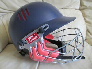 SLAZENGER PRO INTERNATIONAL Cricket Helmet - Men's Senior Adult 60-63cm