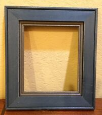 "East Side Mouldings Blue and Gray Wooden Frame for ""Liberty"" Design/ESM 38"