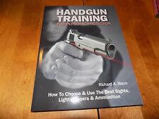 HANDGUN TRAINING Personal Protection Handguns Firearms Guns Ammunition Book NEW