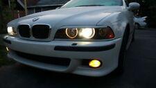BMW E46 E39 M3 M5 Set Sport Package Fog Lights YELLOW Fogs with free bulbs