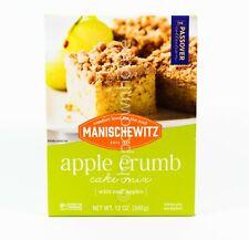 1 Manischevitz Apple Crumb Cake Mix w/ Real Apples 12 oz box 11/13/2021