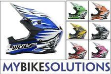 Wulfsport Cub Advance Children Youth Junior ATV Enduro Trial Motocross Helmet