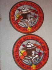 Alabama 1980 SE-4a Conclave set of 2 Camp Horne Aracoma 481 Host patches