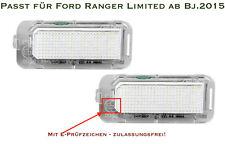 LED SMD Kennzeichenbeleuchtung für Ford Ranger Limited ab Bj.2015 (S1)