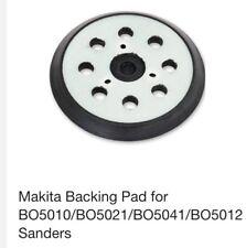 125mm Makita Orbital Sander Hook & Loop Backing Base Pad 743081-8 & 743051-7