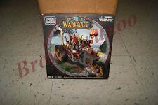 Mega Bloks World of Warcraft Goblin Warrior Trike and Pitz 65 Pc Set NEW