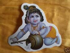 Aufkleber goa psy hippie sticker indien Krishna India