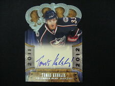 TOMAS KUBALIK AUTO RC--2011-12 CROWN ROYALE