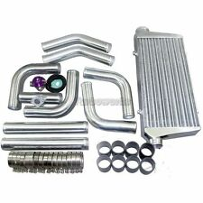 "CXRacing Intercooler + 3"" Pip​ing + BOV For ECLIPSE MUSTANG L4/V6 SUPRA220"