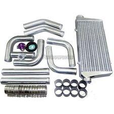 "CXRacing Intercooler + 3"" Piping + BOV For ECLIPSE MUSTANG L4/V6 SUPRA220"