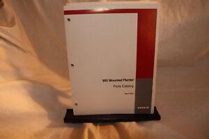 Case/IH 955 Mounted Planter Parts Catalog