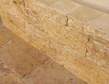 Mauersteine Natursteinmauer Gartenmauer Steinmauer Travertin Gold Wohnrausch 1st