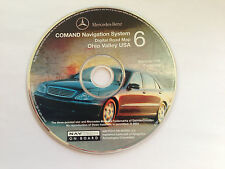 2001 MERCEDES S430 S55 S500 S600 NAVIGATION MAP CD 6 OHIO VALLEY KY WV NY OH