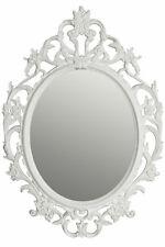Barock Wandspiegel weiß - 84x58 cm - Deko Bad Hänge Spiegel Flurspiegel Antik