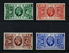 1935 Silver Jubilee, set of 4 stamps, unmounted mint condition, Cat £11.