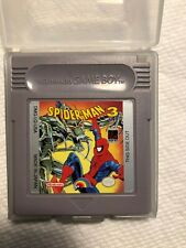 Spider-Man 3 (Nintendo Game Boy, 1993) Tested, included plastic case