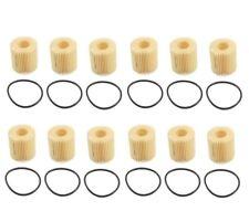 For 12-Pieces Genuine Engine Oil Filter's For Lexus Pontiac Scion Corolla