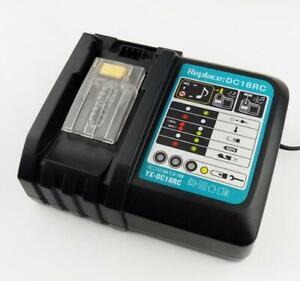 Chargeur rapide de batterie Makita DC18RC 14,4V-18V pour batterie Li-Ion Nouveau