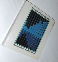 Essentials of Business Statistics [May 01, 1987]