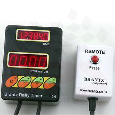 Clásico Rally Coche Brantz Reloj Temporizador Cronómetro Plus