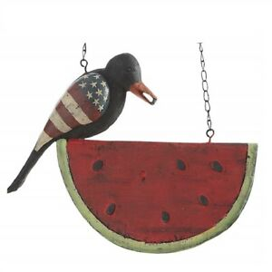 Black Americana Crow On Watermelon Arrow Replacement New - Arrow Sold Separately