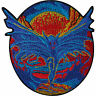 Iron On Embroidered Bat Devil Patch Sew On Biker Clothes Bags Jean Monster Badge
