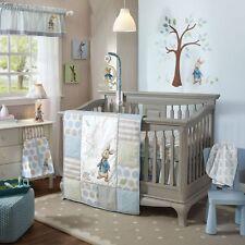 Lambs & Ivy Peter Rabbit 5 Piece Baby Nursery Crib Bedding Set w/ Bumper NEW