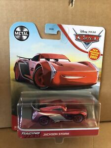 DISNEY CARS DIECAST - Racing Red Jackson Storm  - Combined Postage