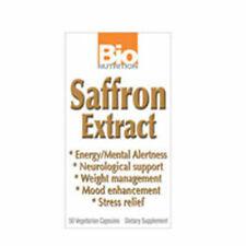 Saffron (Zafferano) Estratto 50 Pillole Veg Da Bio Nutrition Inc