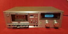 RARE VINTAGE AUDIOPHILE SANYO RD 5040 STEREO CASSETTE DECK RECORDER 💯% TESTED