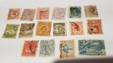 FRANCOBOLLI USATI 1891/1900 NEW ZELAND NUOVA ZELANDA NEU SEELAND ZELANDE