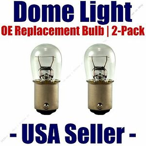 Dome Light Bulb 2-Pack OE Replacement - Fits Listed Studebaker Vehicles - 1004