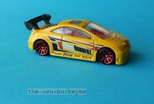 2011 Hot Wheels Loose Honda Civic Si Yellow Night  Burnerz Brand New
