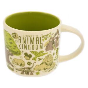 Disney Parks Starbucks Been There Animal Kingdom Coffee Mug New with Box
