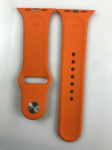 Original Apple watch Sport Band Hermes Orange 44MM stainless steel Pin Prototype