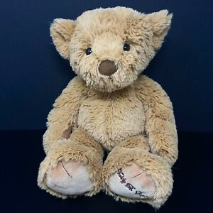 Gund Teddy B Caring Brown Bear Plush Office Depot Shaggy Stuffed Animal Lovey