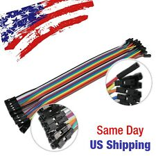 Jumper Wire Dupont Line Female to Female Arduino Breadboard PIC AVR 20pcs 20cm