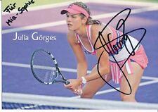 Julia Görges  Tennis Autogrammkarte original signiert 376927