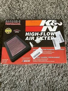 K&N Air Filter Element 33-2393, Performance Replacement Panel Air Filter.