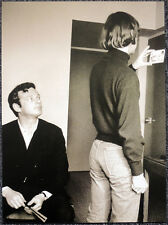 THE BEATLES POSTER PAGE . BRIAN EPSTEIN & RINGO WESTWARD HOTEL ALASKA 1966 . G27