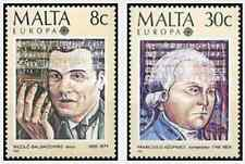 Timbres Europa Musique Malte 707/8 ** lot 15098