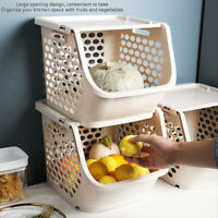 2019 Large Fruit And Vegetable Basket Storage Basket Thickening Kitchen Bedroom