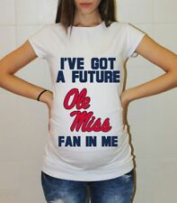 Ole Miss Rebels Baby Pregnancy Shirt Baby Shower College Maternity Shirt