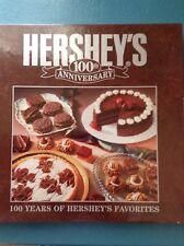 "HERSHEY'S ""100TH ANNIVERSARY"" VINTAGE FAVORITES RECIPE BOOK"