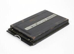 Graflex Graphic Film Pack Adapter 4X5 Film Holder (convert it to wet dry plate)