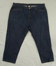 Lucky brand womens jeans size 40 venice bootleg dark wash cotton short cropped