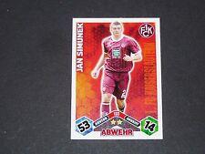 SIMUNEK 1.FCK KAISERSLAUTERN TOPPS ATTAX PANINI FOOTBALL BUNDESLIGA 2010-2011