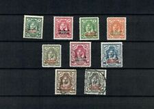 JORDAN Postally used MH USED OVPT PALESTINE CLASSIC SELECTION STAMPS  (JOR 407)