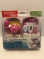 Playtex Baby 6 Piece Baby Healthcare Kit Baby Flex Thermometer Brand New