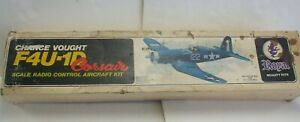 "Royal Kits - Chance Vought F4U-1D Corsair Wood R/C Airplane Kit w/ 61"" Wing Span"
